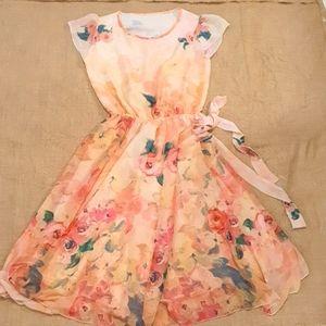 Size 10 12 Floral lightweight dress